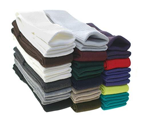 Neotrims Knit Rib Fabric & Cuffs Bande de tricot sans coutures Mélange acrylique et élasthanne Coloris au choix Vente au mètre