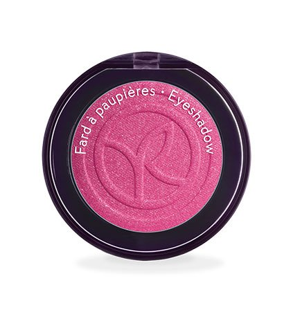 Yves Rocher COULEURS NATURE Lidschatten COULEUR VÉGÉTALE Rose Pivoine scintillant, einzelner Eyeshadow in Pink, 1 x Dose 2,5 g