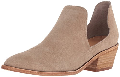 Chinese Laundry Women's Focus Ankle Boot, Mink Suede, 8.5 M US