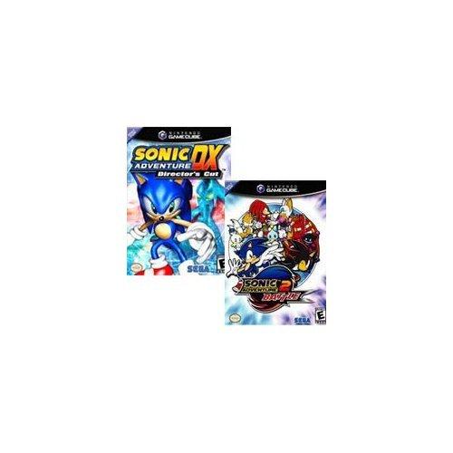 Sonic Adventure DX - Director's Cut / Sonic Adventure 2 Battle Double Pack [Gamecube]