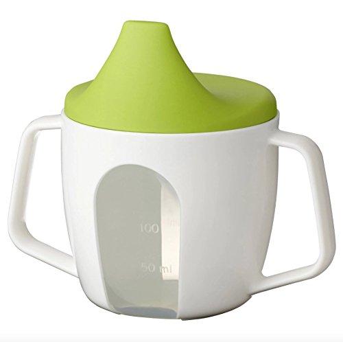 Ikea Borja Baby Trinkbecher, auslaufsicher, 200 ml, BPA-frei, 2 Stück