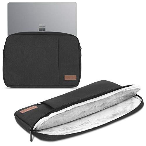 Beschermhoes compatibel met Microsoft Surface Pro X Tas Tablet Cover Case Notebook Hoes, zwart