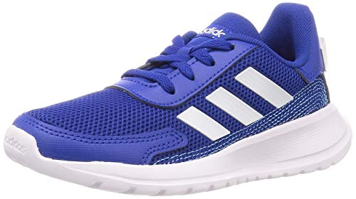 adidas Unisex Kinder Tensaur Run Traillaufschuh, Team Royal Blue Footwear White Bright Cyan, 28 EU