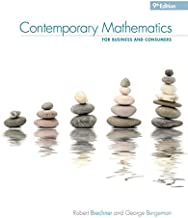 Contemporary Mathematics for Business & Consumers (MindTap Course List)
