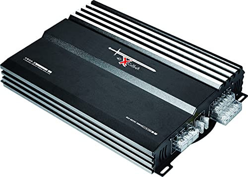 Excalibur X500.4 4-Kanal Endstufe Auto - KFZ Autoradio Verstärker 4 x 500 Watt - MOSFET 2000 Watt Max