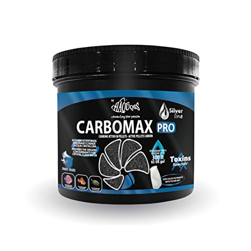 Haquoss carbomax Pro Material filtrante, 450 g