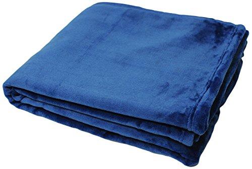 Riva Paoletti Colorado Blue Throws, 140 x 180 cm, Polyester