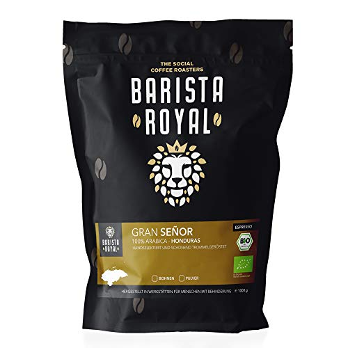 BARISTA ROYAL Bio Espressobohnen 500g