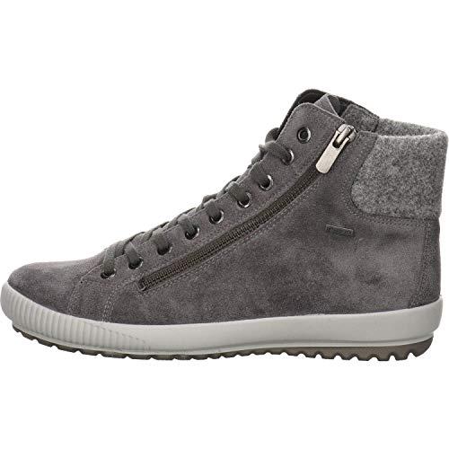 Legero Damen Tanaro Gore-Tex Hohe Sneaker, Braun (Fumo 22), 39 EU