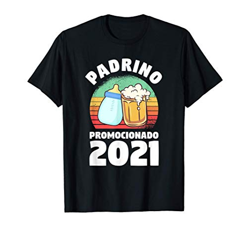 Hombre Cita Divertida De Bautizo Para Un Padrino 2021 Camiseta