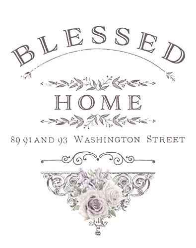 Prima Marketing 655350632861 Blessed Home Redesign Transfer, Multicolor