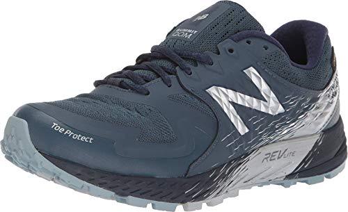 New Balance Summit KOM Gore-Tex, Zapatillas de Running Mujer, Azul (Petrol/Pigment GT), 40 EU