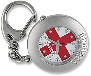 ENGKEY004/A - Reloj de Bolsillo, Correa de Metal Color Plateado