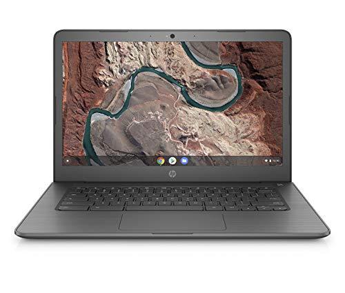 HP Chromebook 14-db0002ng (14 Zoll / Full HD) Laptop (AMD A4-9120 APU, 4GB DDR4 RAM, 64GB eMMC, AMD Radeon R2, Chrome OS) chalkboard grey (Generalüberholt)