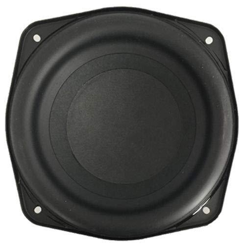 Mid Woofer Altoparlante da5'13 Cm. - 130 mm. (Dimensioni Standard), Potenza 120 W max, Utilizzabile come Ricambio per Casse Acustiche hi-fi casa Amplificate/Passive, Woofer per Auto