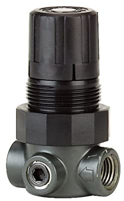 Dwyer Series MPR Miniature Pressure Regulator, Zinc Body, Air and Water, 0-15 psi from Dwyer Instruments