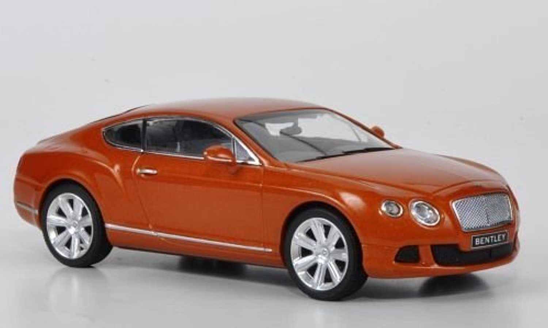 Bentley Continental GT, met.-Orange, 2011, Modellauto, Fertigmodell, Minichamps 1 43