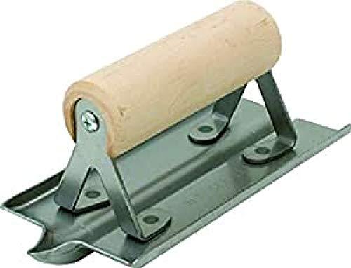 Cortadora de Ranuras para hormigón Marshalltown, R 6 mm, W 13 mm, D 13 mm con Mango de Madera, de Acero, para hormigón y Suelo, La Plata, dimensión: 152x76 mm