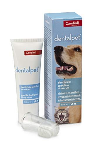 Candioli Dentalpet Dentifricio per Cani E Gatti 50 ml