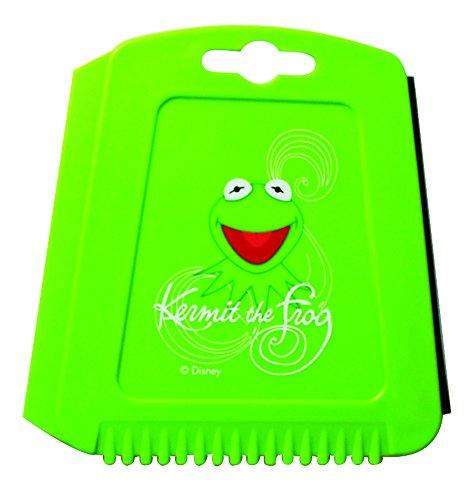The Muppets' Trapez Eiskratzer für das Auto, Eisschaber mit Eisbrecher-Zähnen und Wasserabstreiflippe