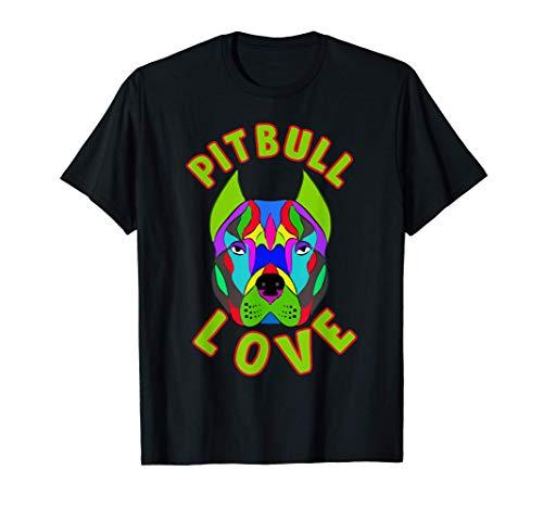 Amante De Los Perros De Mascota American Pitbull Terrier Camiseta