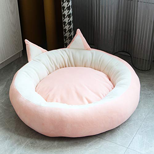 Pet Bed,Dog Bed,Dog Cushion,dog Basket,Cat Bed,Plush Donut Pet Bed,Dog Cat Round Warm Cuddler Kennel Soft Puppy Sofa,Cat Cushion Bed Sleeping Bag Orthopedic Relief And Improved Sleep,Anti-Slip Bottom