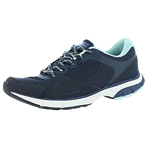 Vionic Women's Drift Tokyo Leisure Sneakers - Supportive Walking Shoes That Include Three-Zone Comfort with Orthotic Insole Arch Support, Sneakers for Women, Active Sneakers Navy 8.5 Medium US