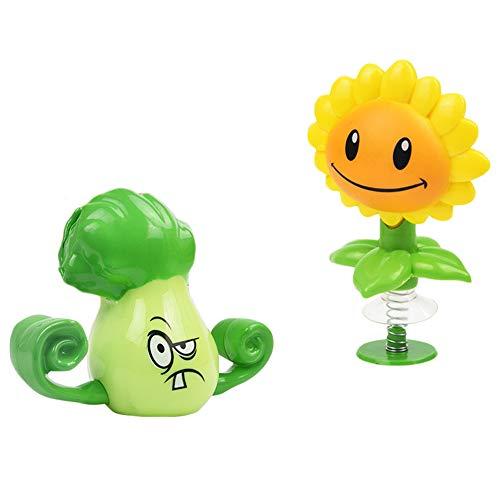 WenWiuir Plants vs. Zombies Estatuilla de Juguete Juguetes creativos Juguetes Lindos Juguetes for niños Decoración Juguete (Color : A09, Size : 23 X 20.5 X 8.4cm)