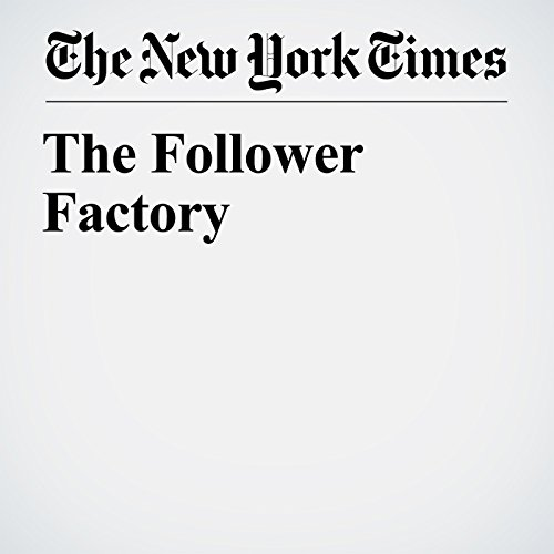 The Follower Factory copertina