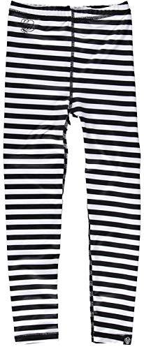 Beach & Bandits - UV-leggings voor kinderen - Bandit - zwart/wit