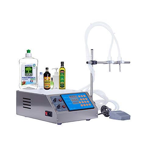 Máquina de llenado de líquidos 3-4000ML / Min cada cabezal Microordenador digital eléctrico automático Llenadora de bebidas Bomba peristáltica para agua Perfume Aceite Petróleo, Certificación CE