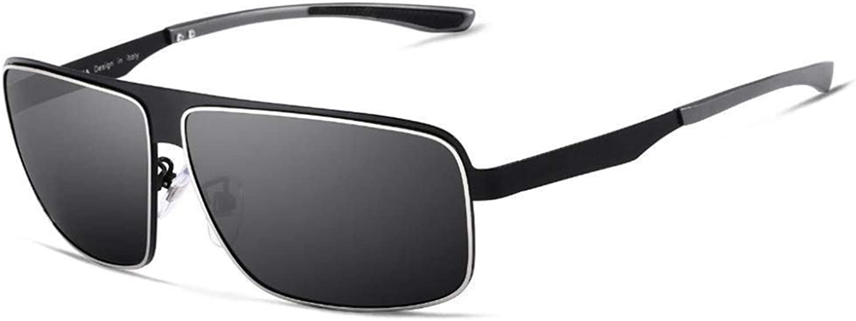 Pink day Sunglasses Men Al-Mg Polarized Sunglasses Outdoor Riding Travel Beach Sun Visor Uv-Proof Fashion Sunglasses