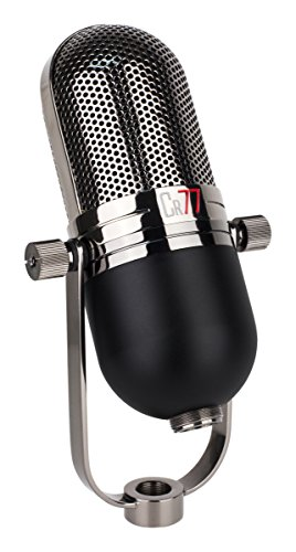 MXL CR77 Dynamic Stage Vocal Microphone with Integrated Shockmount and Flight Case