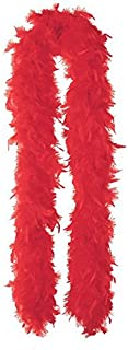 """Amscan Party Feather Boa, 72"""", Red"""