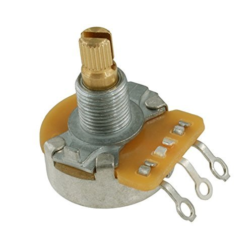 Allparts EP-0085-000 CTS Potentiometer (Poti, 250K, logarythmisch)