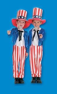 Halloween FX Uncle Sam Child Costume (4-6)