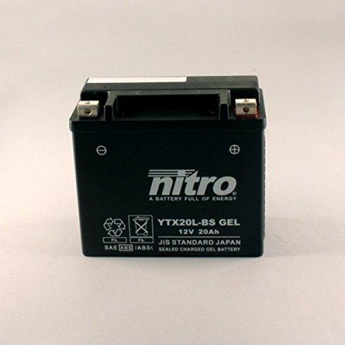Iboxx Batterie YTX20L-BS 12 Volt GEL für Harley Davidson FXDWG 1690 Dyna Wide Glide ABS, FD2, GPM, Bj. 2014