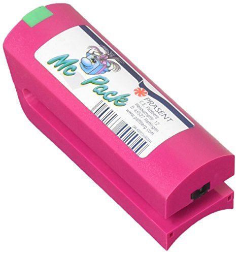 C.E. PATTBERG Ringelbandspleißer McPack pink zum Basteln, Dekorieren & Verpacken von Geschenken, zu jedem Anlass, für Ringelbänder bis zu 40 mm Breite geeignet