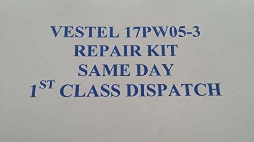 Vestel 17IPS61 & -3 - Kit de reparación de PSU Sharp, Toshiba, Hitachi, Digihome ect