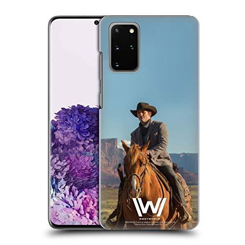 Head Case Designs Offizielle Westworld Teddy Flood Darsteller Harte Rueckseiten Huelle kompatibel mit Samsung Galaxy S20+ / S20+ 5G