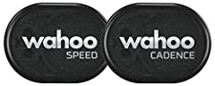 Track and capture real-time cycling speed and cadence on your bike computer or smartphone with compatible training apps. Lightweight and easy to install – NO MAGNETS. Cadence attaches to your bike's crank arm or shoe; Speed attaches to your bike's wh...