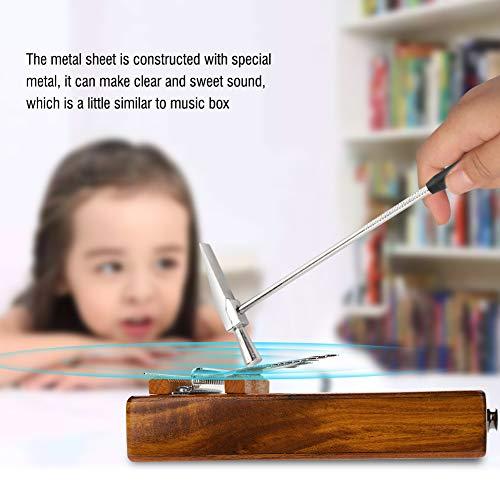 Leftwei EQ Kalimba, 17-Tasten-Fingerpiano, mit Audio-Interface und Tuning-Tool für Studio für Bühnenperformance