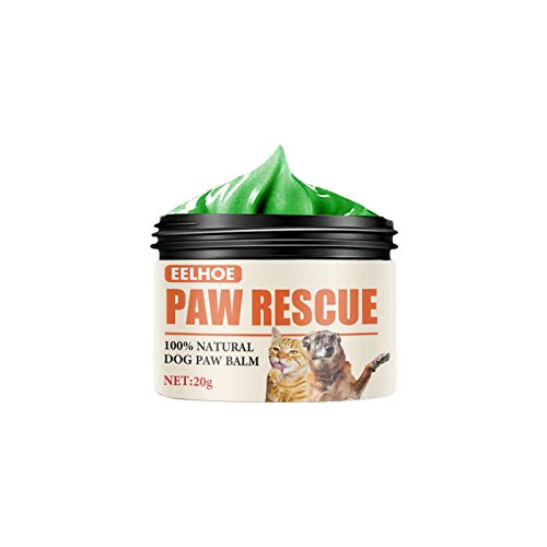 Pet Paw Care Cream Pet Foot Pad Protection Oil Pet Foot Care Cream Foot Pads Protection Oil Dry For The Pet Voetencrème Ruwe gebarsten voeten Huisdieren Bescherming van huisdier Zand en sneeuw