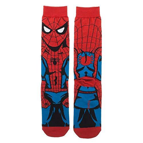 Product Image 3: Spider-Man Crew Socks Marvel Spider-Man Socks – Spider-Man Accessories Marvel Socks – Spiderman Gift