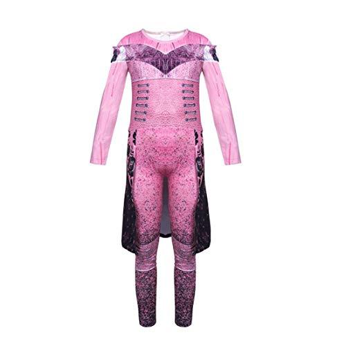 Disfraz divertido para nia con 3 descendientes Audrey disfraz de fiesta para adultos y nios