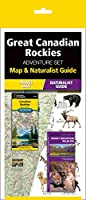 The Great Canadian Rockies Adventure Set: Map and Naturalist Guide