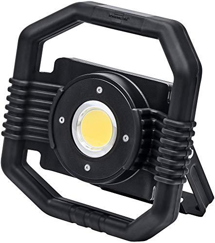 Preisvergleich Produktbild Brennenstuhl Mobiler Hybrid LED Arbeitsstrahler DARGO / LED Baustrahler für außen (LED Strahler 30 W mit wahlweise Akku- oder Netzbetrieb,  automatische Umschalt-Funktion,  IP65,  inkl. Powerbank)