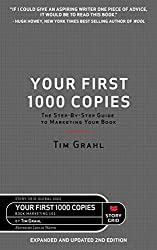 Gifts for authors Your First 1000 Copies book