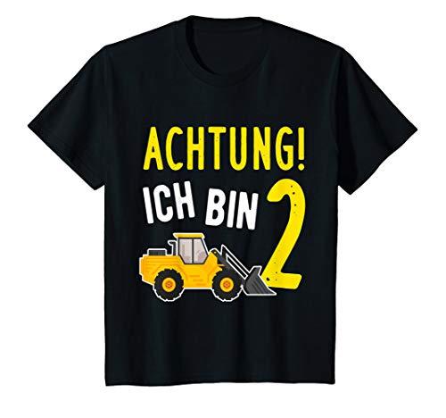Kinder 2. Geburtstag - 2 Jahre alt - Jungen Geschenk Geschenkidee T-Shirt