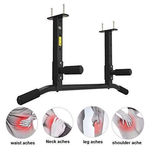 Multifunction Wall Traction Bar, Multigrip Pull Up Bar Ceiling, Max Load 300kg, para House Bar Gym, Gym, Desk